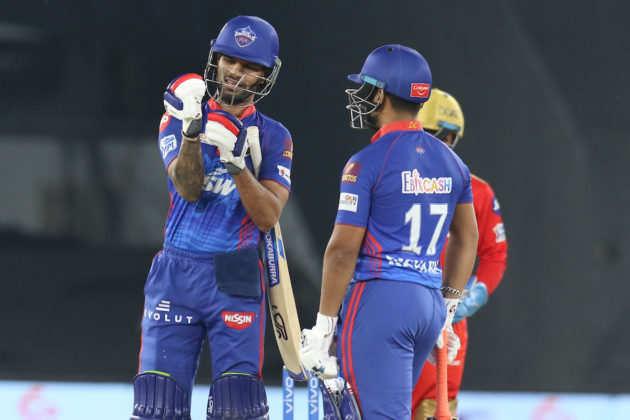 धवन ने एक और 50 बनाया सुपर स्ट्रॉन्ग दिल्ली कैपिटल्स को 7 विकेट से जीत दिलाई