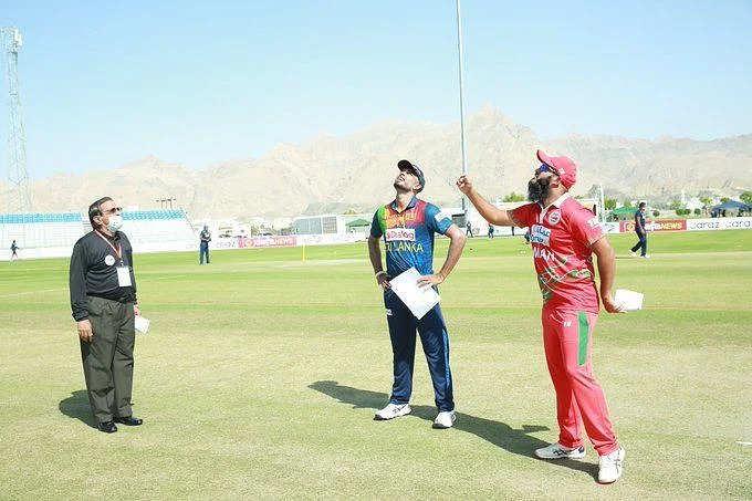 श्रीलंका ने पहले टी20 मैच में ओमान को 19 रनों से हराया