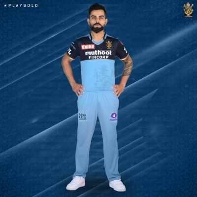 फ्रंटलाइन वर्कर्स के सपोर्ट में नीली जर्सी पहनकर खेलेगी Royal Challengers Bangalore