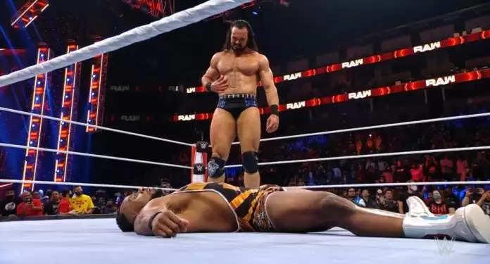 WWE रॉ : बॉबी लैश्ले ने दी गोल्डबर्ग को चेतावनी, ड्रयू मैकइंटायर ने बिग ई को क्लेमोर किक लगाकर किया शो का अंत