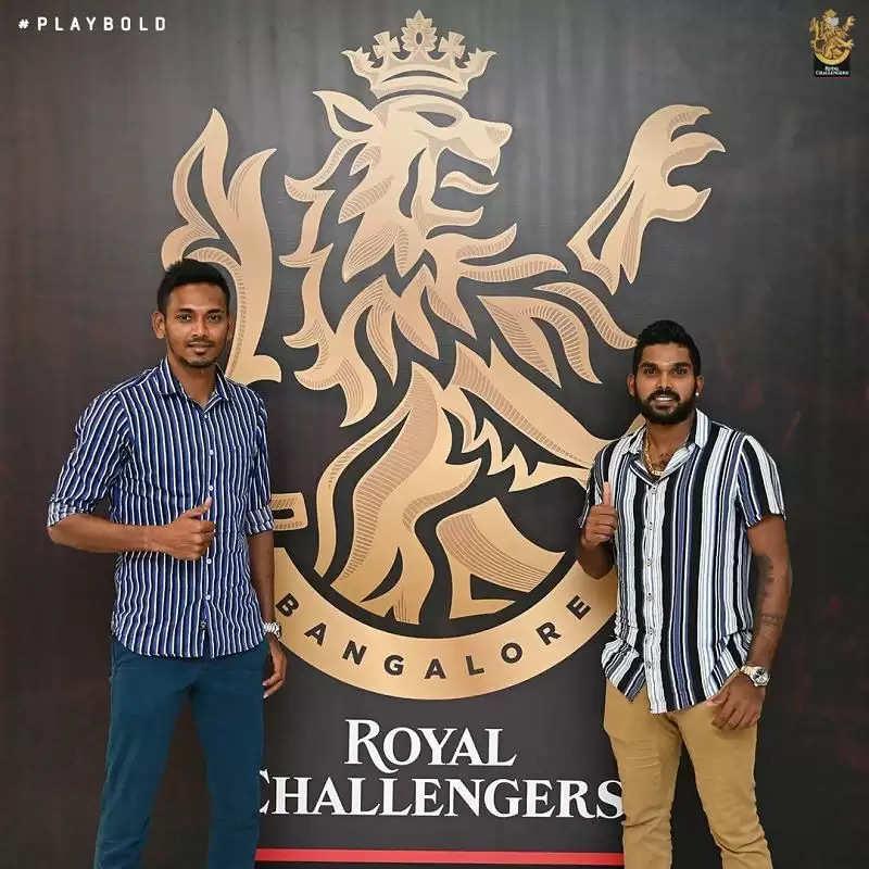 आईपीएल 2021: आरसीबी के वानिंदु हसरंगा और दुष्मंथा चमीरा दूसरे चरण से पहले यूएई पहुंचे