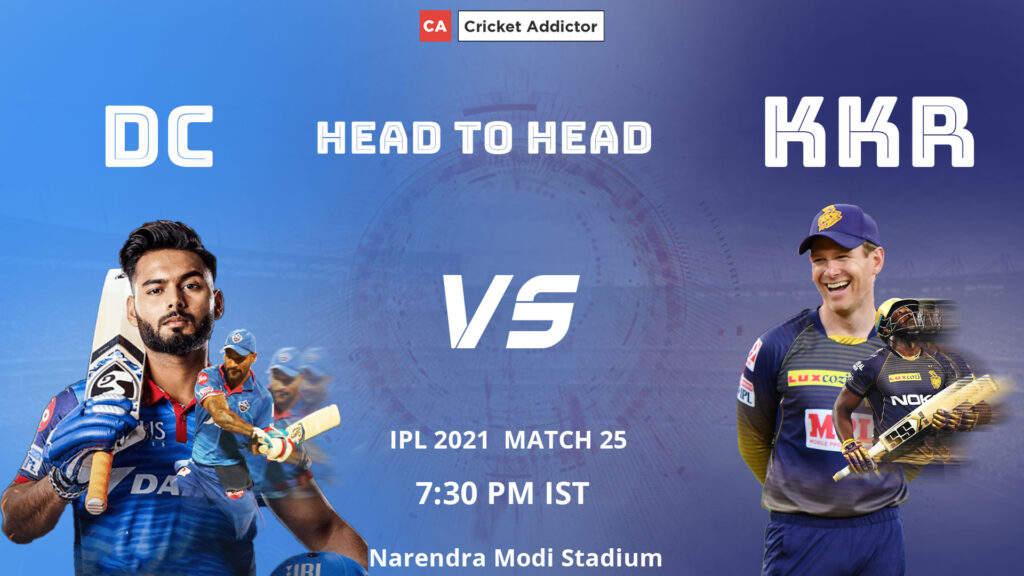 आईपीएल 2021, मैच 25: डीसी बनाम केकेआर - केकेआर की प्लेइंग इलेवन