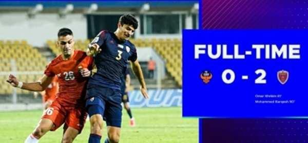 AFC Champions League : अल वहदा ने एफसी गोवा को 2-0 से हराया