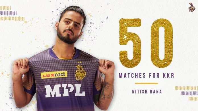 IPL 2021 में DC vs KKR: कोलकाता नाइट राइडर्स के लिए नितीश राणा ने किए 50 मैच पूरे
