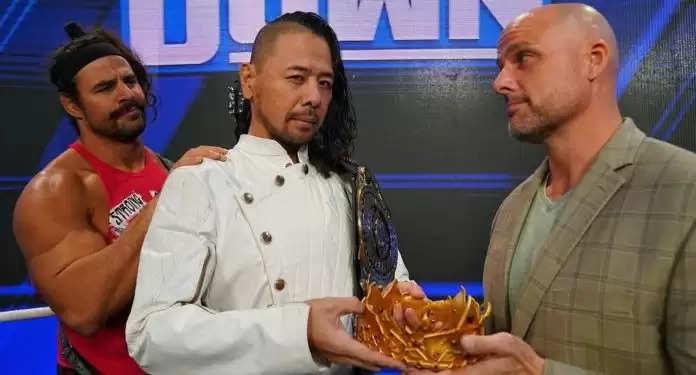 WWE Smackdown: Shinsuke Nakamura ने अपने नाम से 'किंग' शब्द हटाते हुए त्यागा अपना ताज, जानिए क्या है इसकी वजह