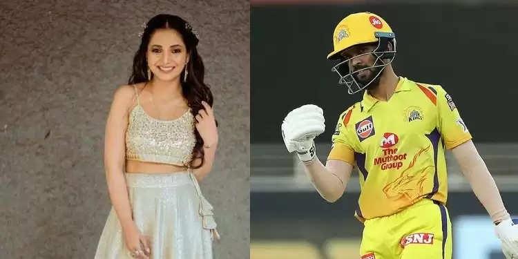 IPL 2021: ऋतुराज गायकवाड़ का नाम मराठी अभिनेत्री सयाली संजीव से जुड़ा, सोशल मीडिया पर पोस्ट हुई वायरल