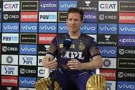IPL 2021 - आरसीबी को हराने के बाद इयोन मोर्गन ने कहा - टी20 का लीजेंड है ये खिलाड़ी